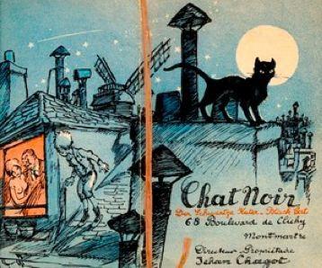 Publicity for Le Chat Noir