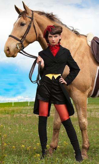 "Unreasonable designer fashions labeled as ""equestrian""  Equestrian Fashion: What It Is And What It Isn't. « Unbridled  http://goucherunbridled.wordpress.com/2012/02/21/equestrian-fashion-what-it-is-and-what-it-isnt/#"