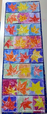 Maestra Caterina: Autunno: foglie d'acero.