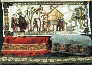 *Anglo-Saxon embroidery