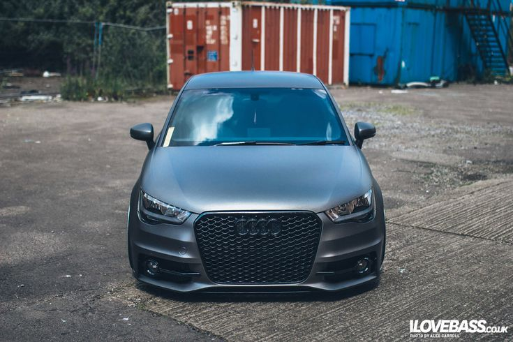 I Love Bass · Article · James Harper's Audi A1