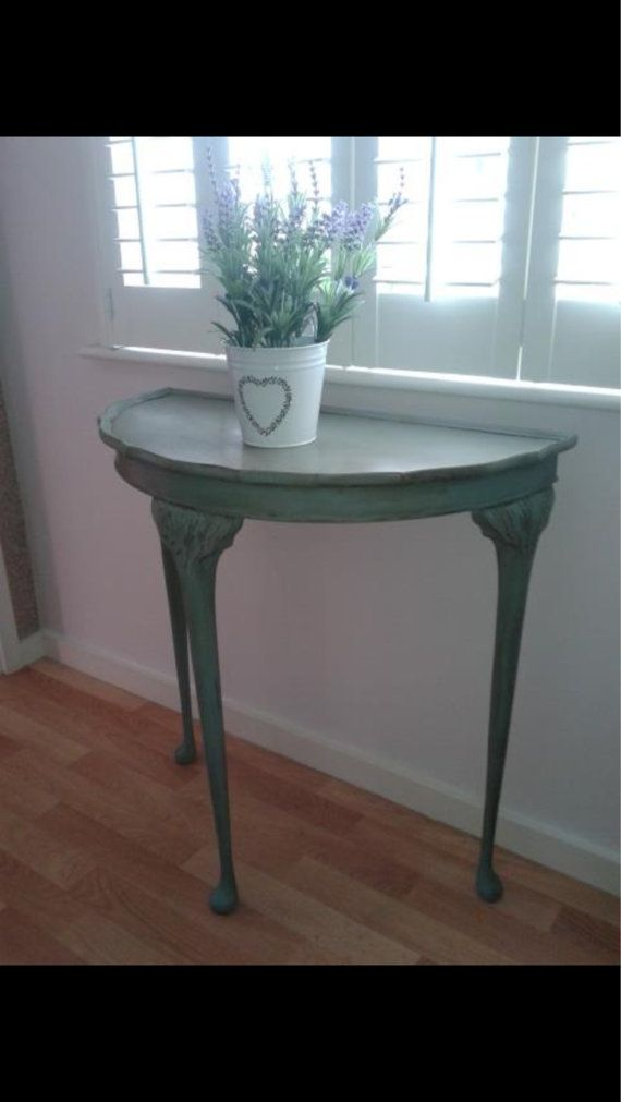 17 best ideas about half moon table on small