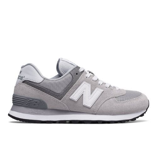574 Core Plus Women's Shoes - Grey (WL574CA)