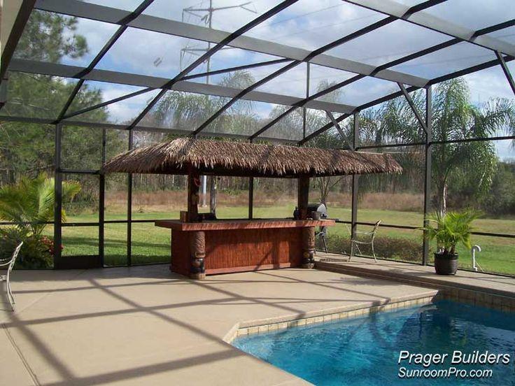 Lake Mary Florida Pool Screen Enclosure Prager Builders
