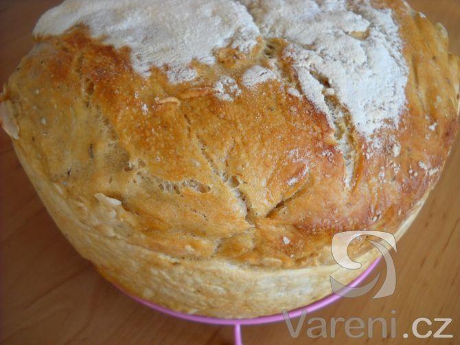 Chléb pouze z kvásku bez kvasnic. Recept na dlouze kynutý a skvělý chlebíček.
