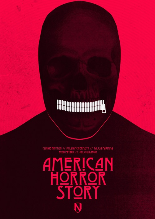 American Horror Story by Needle Design & Illustration