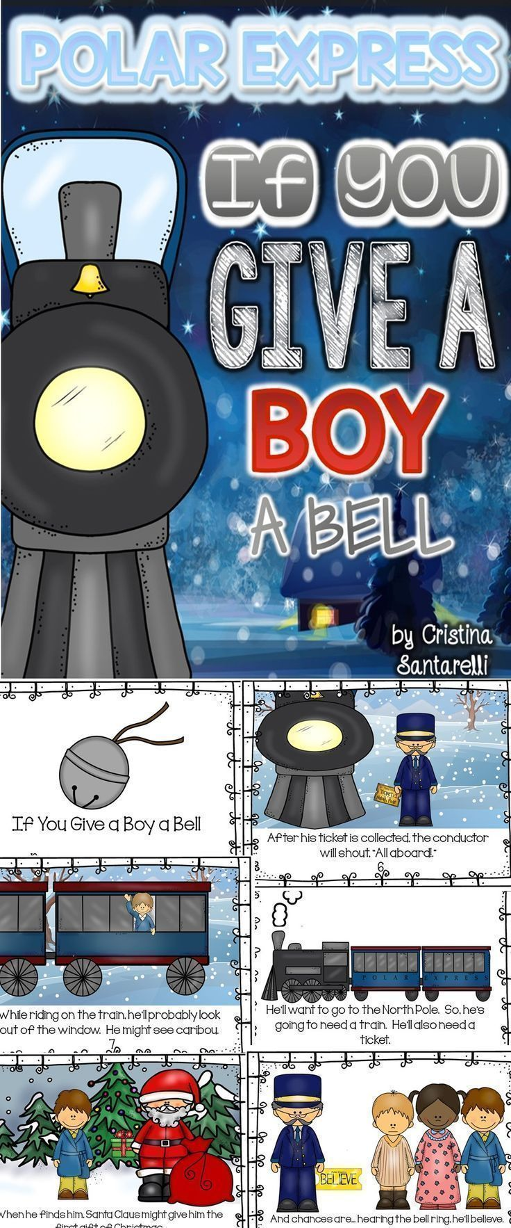 28 best the polar express images on pinterest polar express polar express activities polar express packet biocorpaavc Image collections