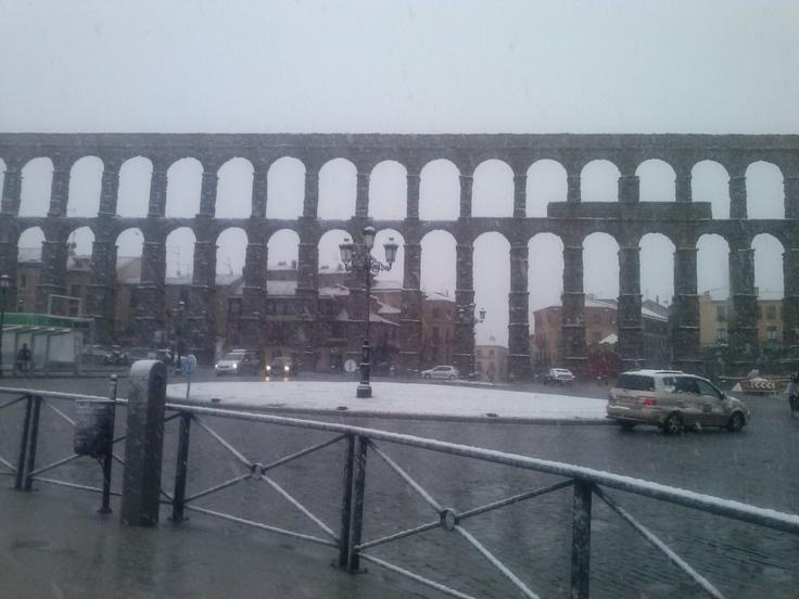 Acueducto de Segovia. Día 29 de Abril.