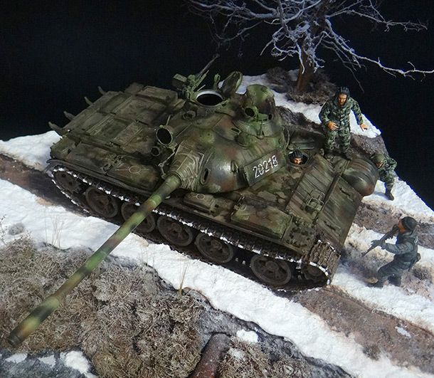 Dioramas and Vignettes: T-55A
