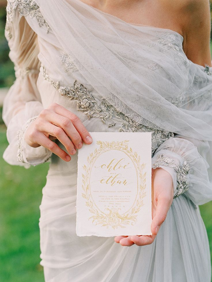 Luxurious Parisian wedding inspiration: Photography : Katie Stoops Photography Read More on SMP: http://www.stylemepretty.com/2016/02/05/luxurious-parisian-wedding-inspiration/