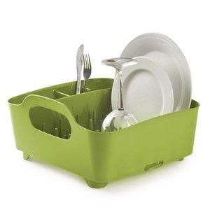 Сушилка для посуды Tub зеленая