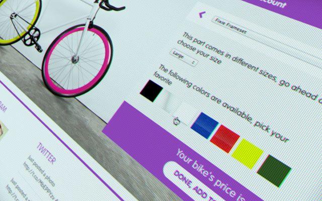 Broke Bikes - Design your own bike