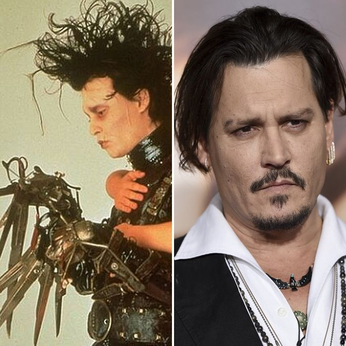 It's Johnny Depp's 53rd Birthday — See the Cast of 'Edward Scissorhands' Then and Now!