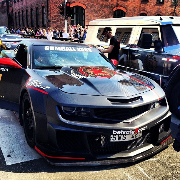MEAN Looking Camaro taking on the 2013 Gumball 3000