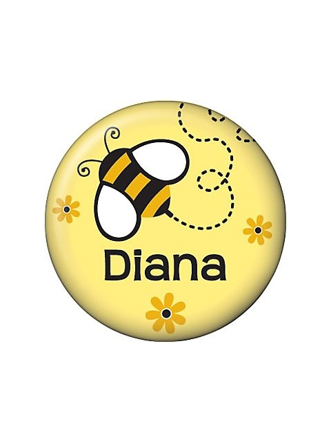 Bumble Bee Personalized Mini Button