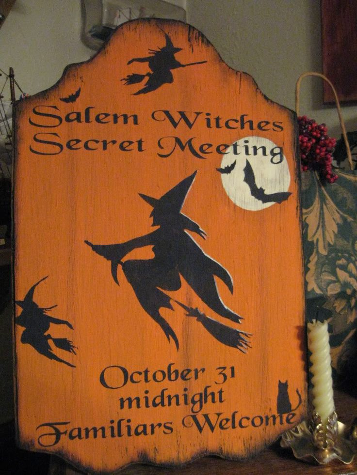 primitive halloween signs | Primitive Halloween and Fall Signs