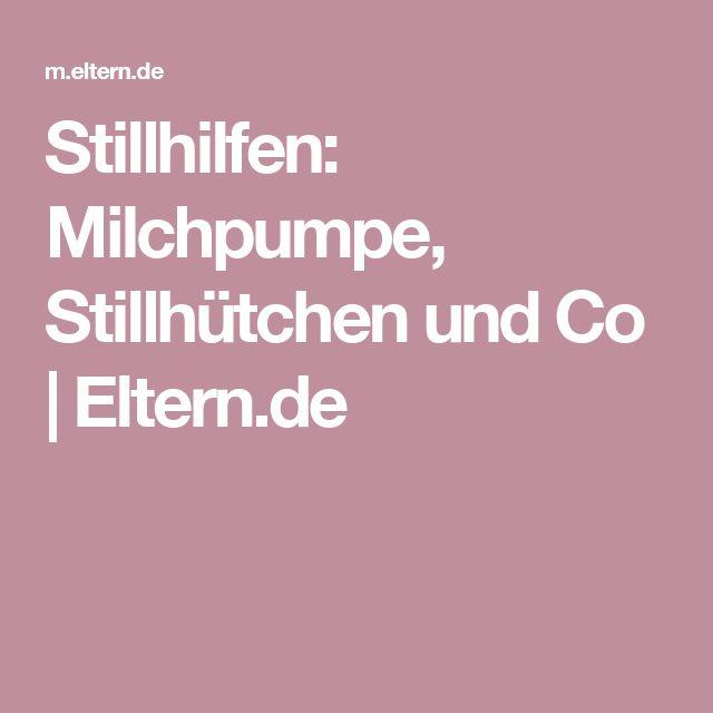Stillhilfen: Milchpumpe, Stillhütchen und Co  | Eltern.de