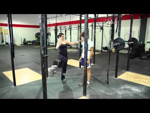 ▶ Learn How To Do A Kipping Pull-up - Best of Crossfit - YouTube... great method for teaching newbies!