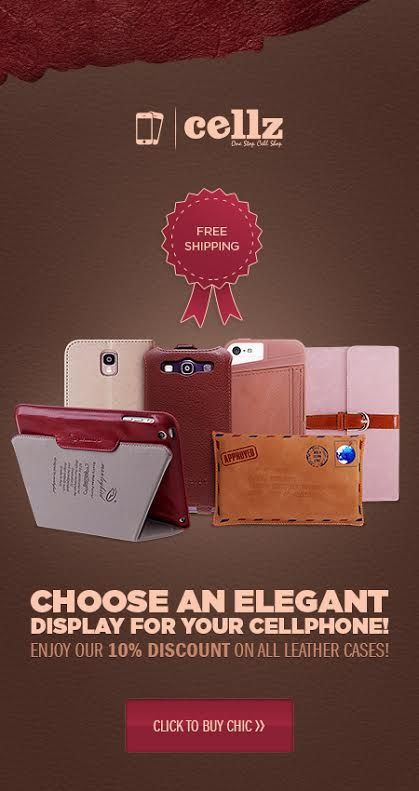 Elegant Leather Wallet Cases 10% OFF for the next 48 Hours! Cellz.com #leathercase #smartphone #cases #discount #promo Buy now and be chic!