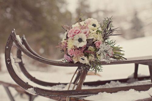 winter wedding: Winter Wonderland Wedding, Winter Wedding Flower, Bridal Bouquets, Pink Christmas, Romantic Wedding, Wedding Bouquets, Wedding Ideas, Winter Wonderland, Wedding Photos
