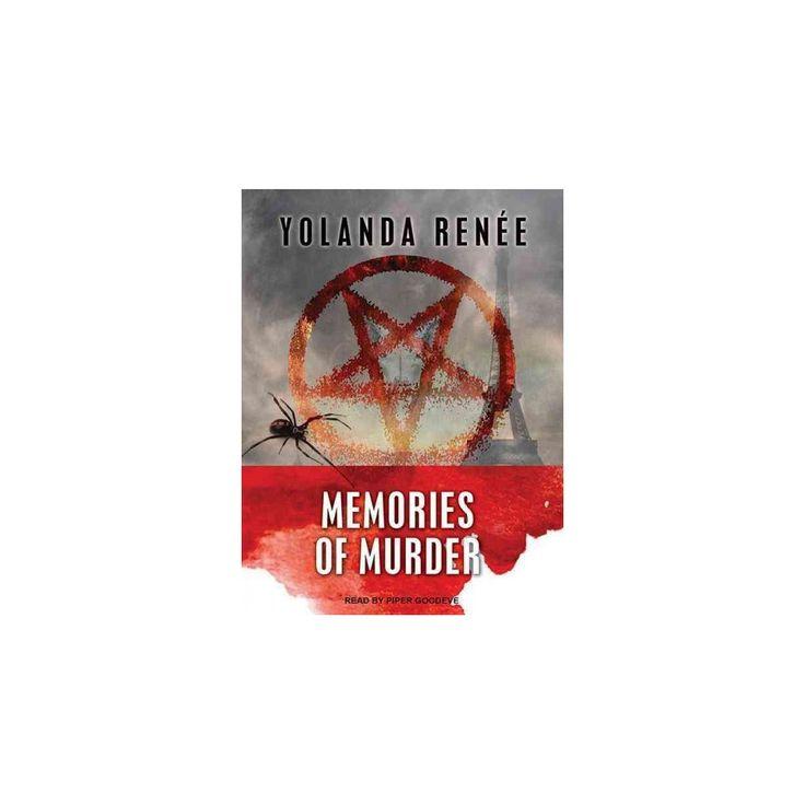 Memories of Murder (Unabridged) (CD/Spoken Word) (Yolanda Renee)