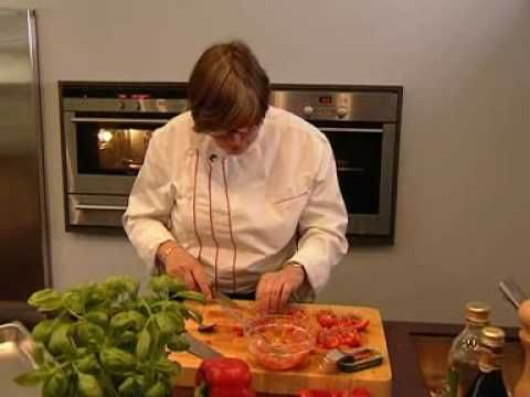 Recept stoomoven: gevulde paprikas - YouTube