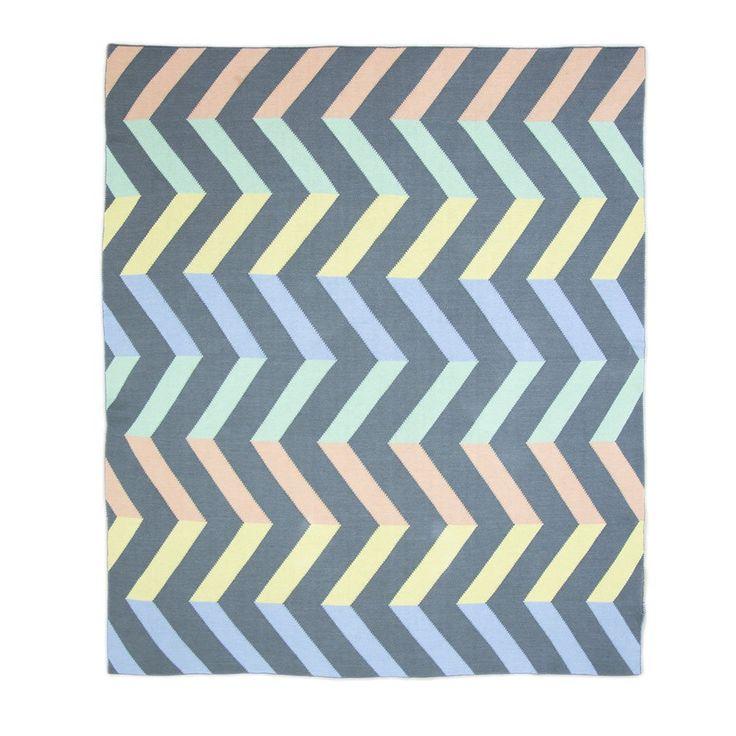 Weegoamigo Knitted Baby Blanket  $79.95 - Spectrum