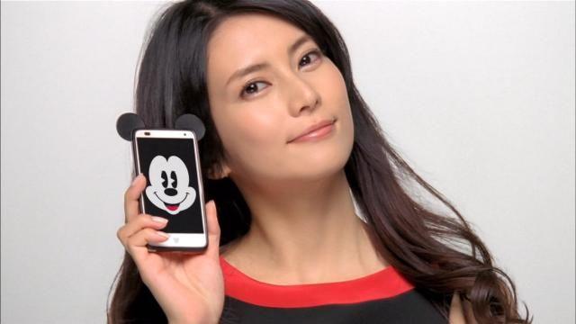 柴咲コウ「ディズニーモバイル」はくるくる変わる表情にクギヅケ!