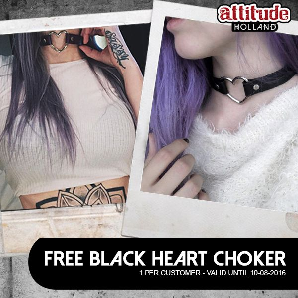 Get your free heart choker now and join the hype! <3