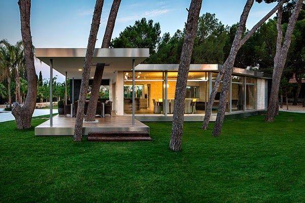Pabellón entre Pinos / e2b arquitectos, Alicante, España