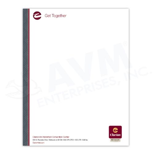 Clarion Logo Letterhead Dimensions 7 25 X 10 5 Sku Claletter Casepack 500 Brand Generic Uo With Images Hotel Branding Hospitality Supplies Choice Hotels