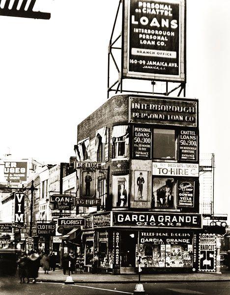 Berenice Abbott - Billboards and signs