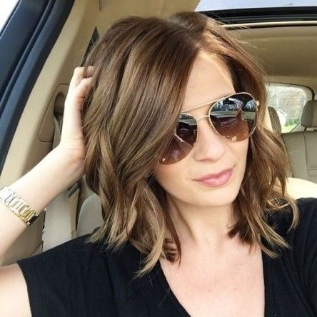 cool 20 Trendy Medium Hairstyles to Try                                                                                                                                                                                 More