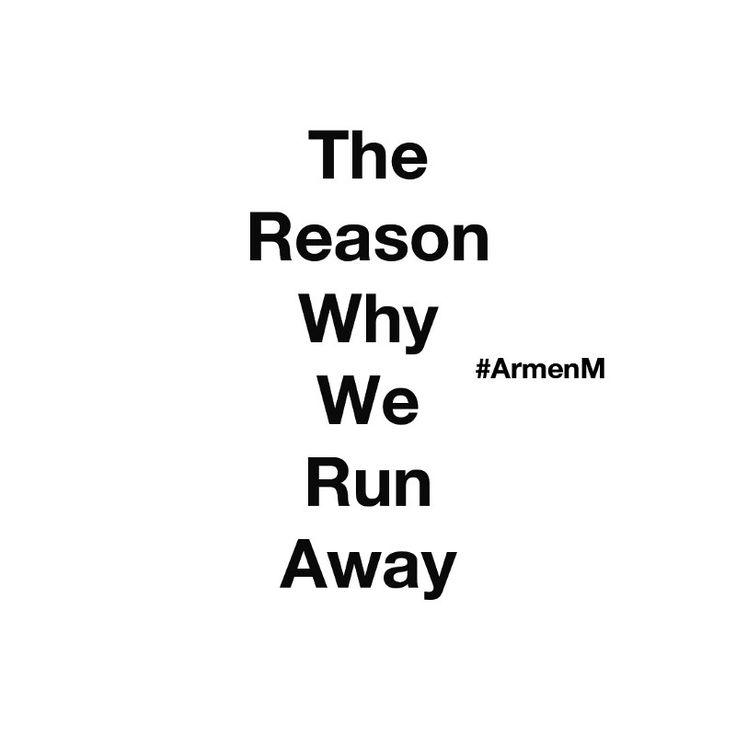 The Reason Why We Run Away — Medium