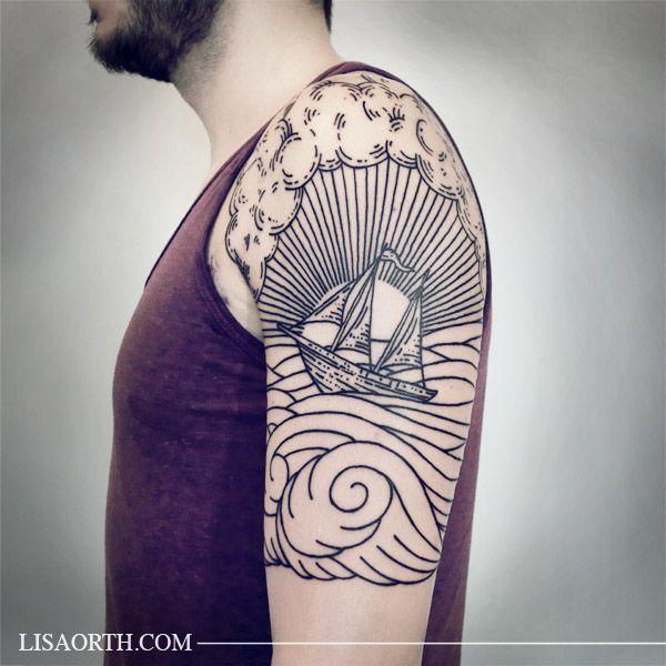 Tattoo Ideas Line Work: 25+ Best Ideas About Woodcut Tattoo On Pinterest