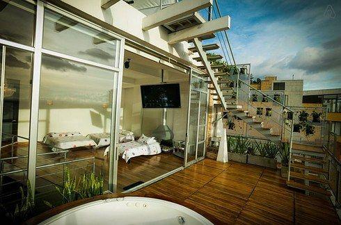 Penthouse para 7 personas, por solo $200 dólares: | 20 Apartamentos en Bogotá que puedes alquilar en Airbnb sin gastarte todos tus ahorros
