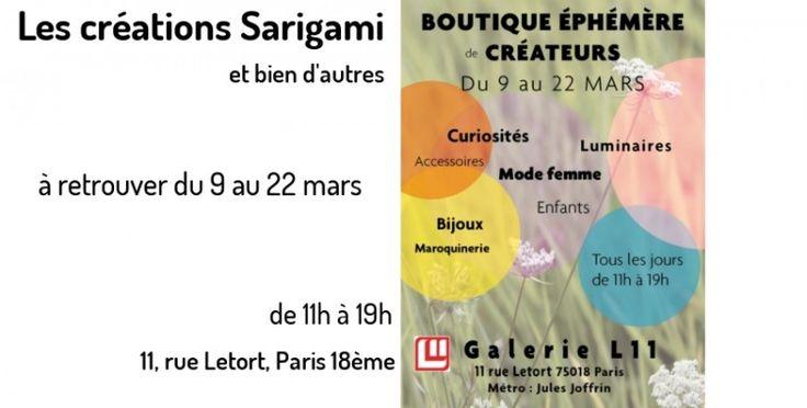 Boutique éphémère de créateurs à Paris
