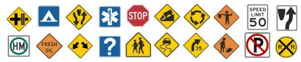 Quia - Traffic & Road Sign Test - part 1