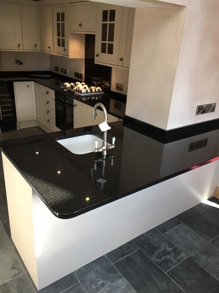 Star Galaxy Granite Worktops Granite Worktop Kitchen Classic White Kitchen Kitchen Room Design