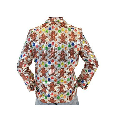 Sequin Gingerbread Man Ugly Christmas Suit Jacket  http://www.fivedollarmarket.com/sequin-gingerbread-man-ugly-christmas-suit-jacket/