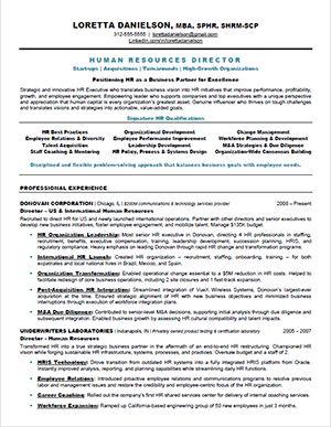 Best  Hr Resume Ideas On   Resume Resume Builder