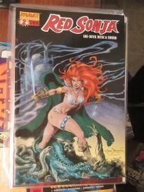 RED SONJA #2 She-Devil WIth A Sword NM Dynamite Entertainment no slice  Frank Brunner NM 2005