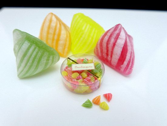 Small Box of Berlingots  Colourful French Candy by ParisMiniatures, $25.00