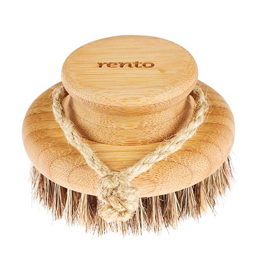 Combat the dry skin winter's winds bring. Rento Natural Bamboo Body Brush - $15