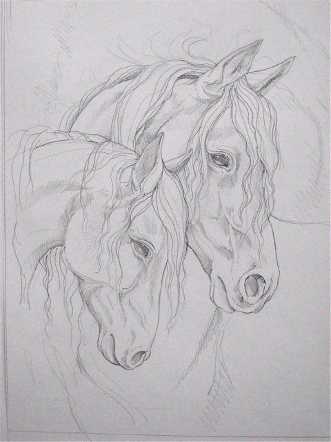 Draw horses, # draw horses – tieremalen