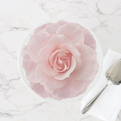 Pink Rose Wedding Cake Cupcake Birthday Stand - baby birthday sweet gift idea special customize personalize