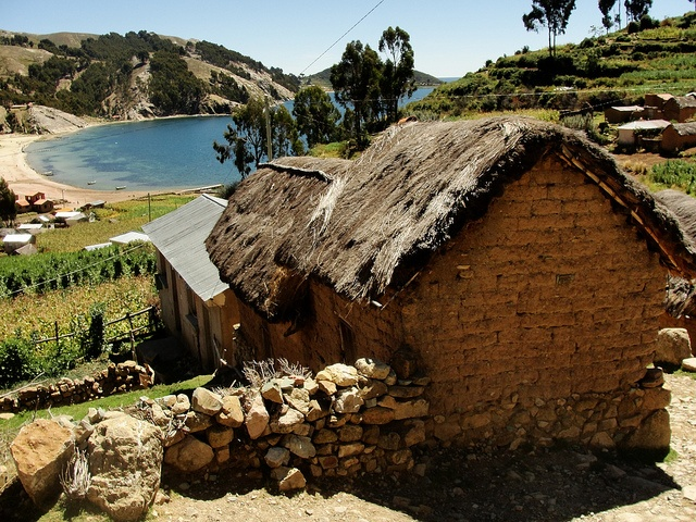 Lake Titicaca, Bolivia: Earth Everyday Houses, Peruvian Landscapes, Peruvian Chocolate, South, America Latina, Lake Titicaca Peru, Travel, Lake Titicaca Bolivia