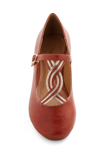 Helix the Flat, #ModCloth  AWESOME site for cute missionary shoes!!!