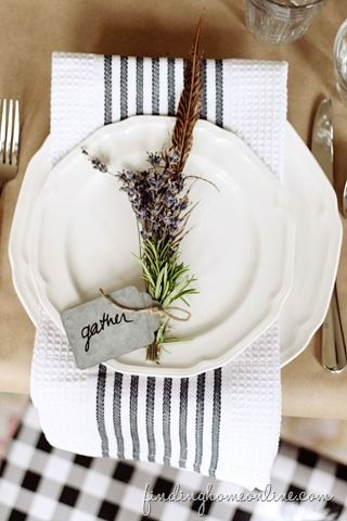 GORGEOUS fall table setting - love the layered details!