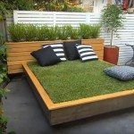 Bett aus Gras